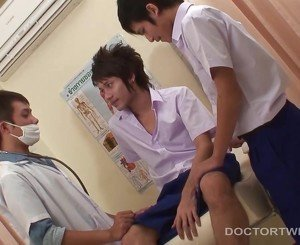 Kinky Asian Medical Fetish Threesome