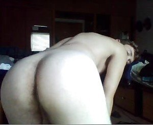 Sexy Str8 Guy Shows His Fucking Big Ass On Doggy