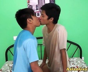 Pissdrinking asian twinks fucking bareback