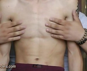 Cute Twink Boy Got Handjob