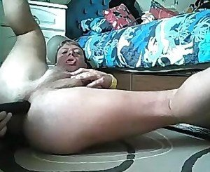 Drilled Deep Dildo Twink Boy