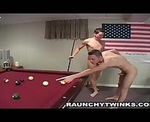 Sexy Hunks Threesome Pool Game