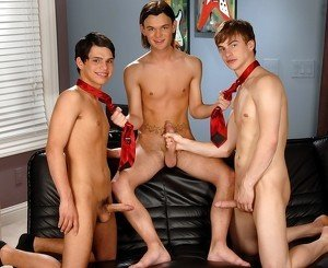 Noah Brooks & Jay Dubbs & Landon Terry in Personal Jesus XXX Video