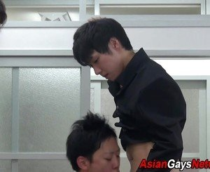 Ass toyed asian twink